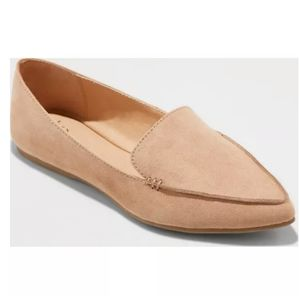 Sz.10 Tan Micah Pointed Toe Loafer